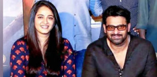Prabhas with Anushka Shetty on his big day