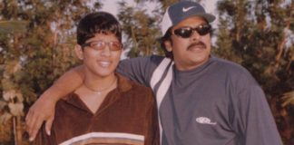 Rare Throwback pic of Young Allu Arjun with Chiranjeevi