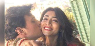 Shriya Saran lip kiss to Andrei Koscheev