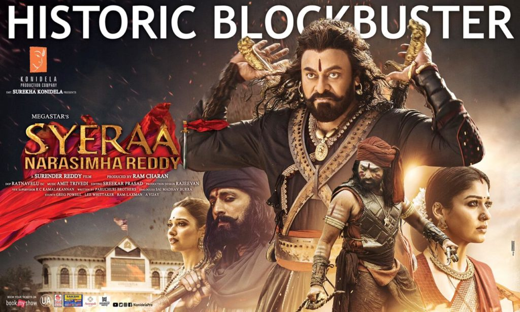 Sye Raa 6 Days AP& TS Box Office collections