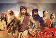 Syeraa Narasimhareddy into foreign Languages!