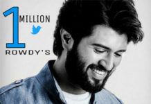 Vijay Deverakonda is moving with 1 Million