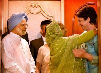 What happened when Bangladesh PM met Priyanka Gandhi?