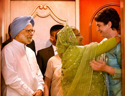 What happened when Bangladesh PM met Priyanka Gandhi?