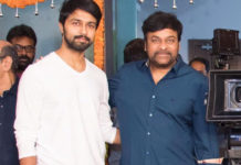Chiranjeevi comes to rescue his Son In Law's film