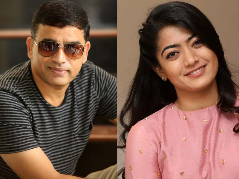 Dil Raju gambling with Rashmika Mandanna Ex Boy friend