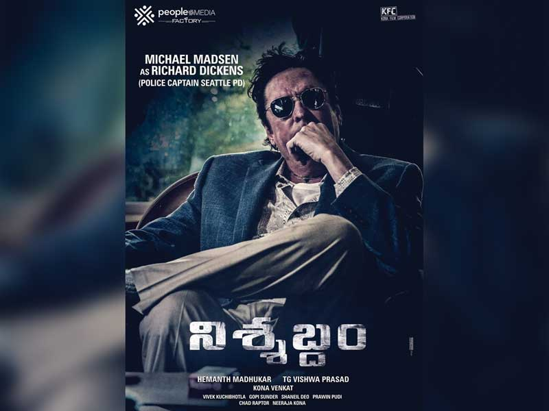 First Look of Michael Madsen from Nishabdham