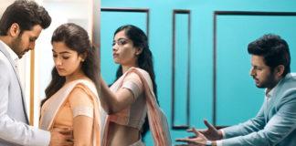 Hate track between Nithin and Rashmika Mandanna in Bheeshma