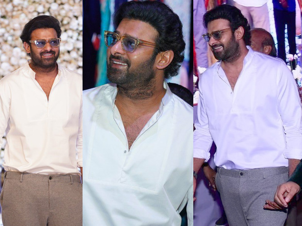 Is this Prabhas look for Jaan! Curly hair and chubby cheeks