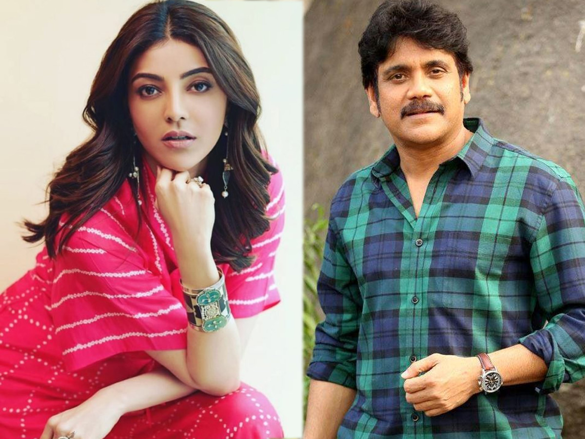 Kajal Aggarwal, the Front-runner for Nagarjuna film