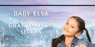 Mahesh Babu lil one Sita Papa the voice for Baby Elsa