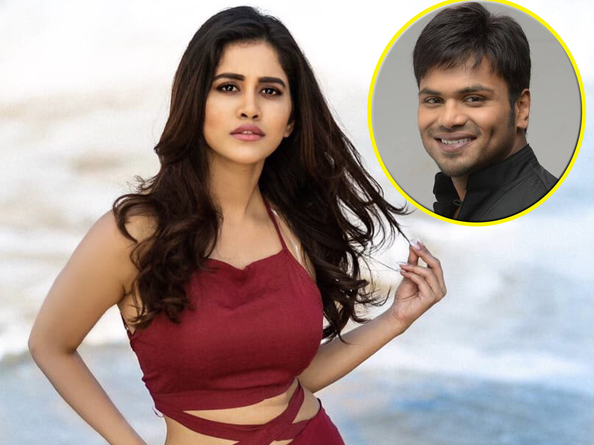 Nabha Natesh finalizes for Manchu Manoj debut production