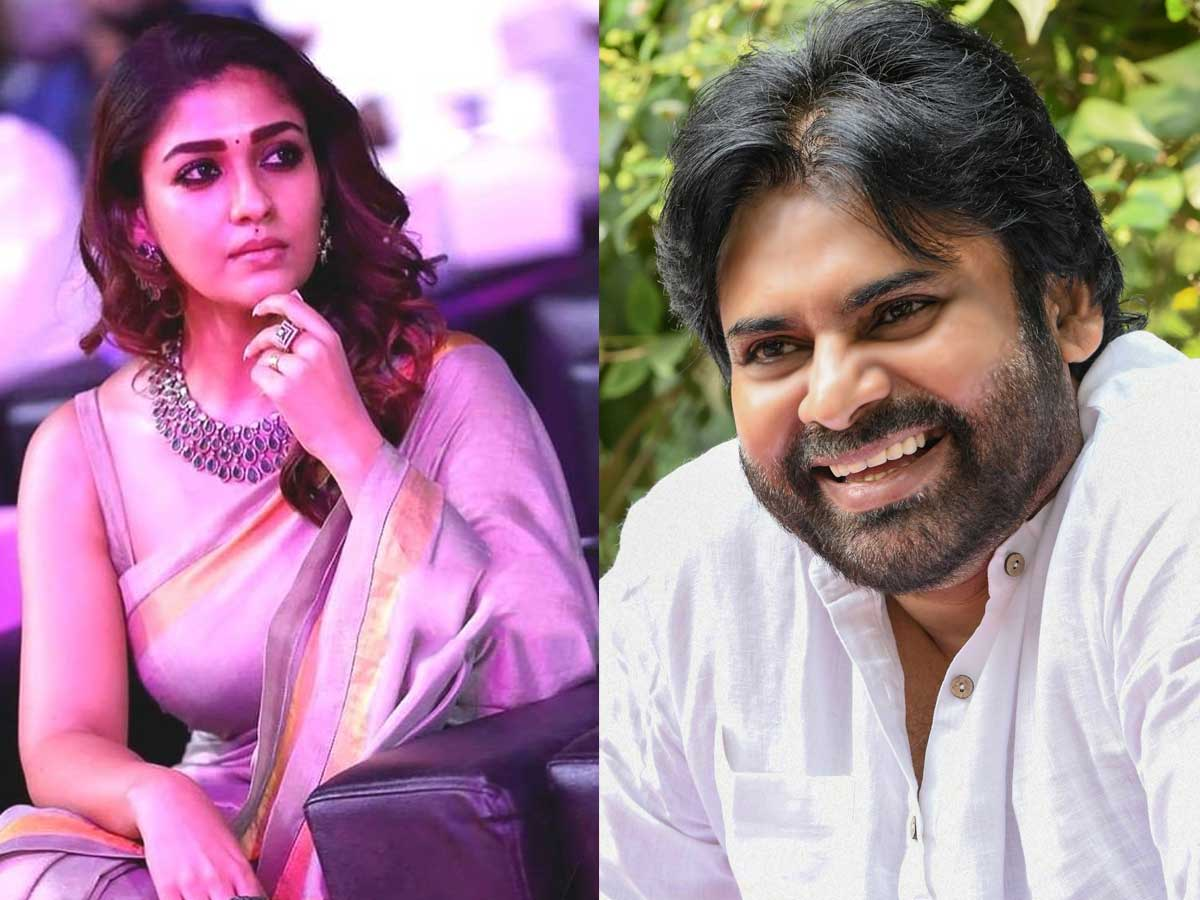 Nayantara in talk to romance Pawan Kalyan