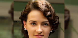 Olivia Morris as Jennifer opposite Jr NTR