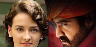 RRR Love Song of Olivia Morris and Jr NTR