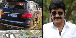 Rajasekhar Car accident!