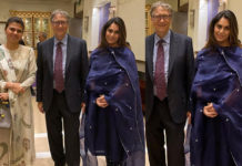 Ram Charan wife Upasana meets Bill Gates