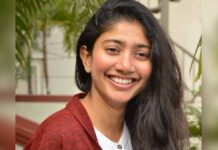 Sai Pallavi training for bomb explosion