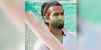 Shahid Kapoor First Look from Jersey