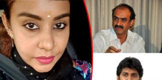 Sri Reddy comments on Suresh Babu and Nani IT Raids