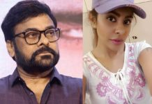 Sri Reddy strong warning to Chiranjeevi over Tamanna Simhardi issue