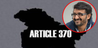 Teja eyeing Megastar for Article 370