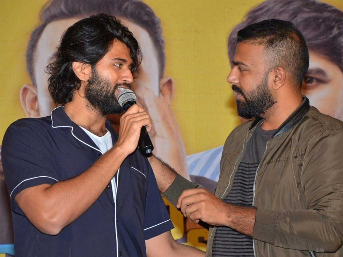 Vijay Deverakonda and Tharun Bhaskar Chat Leaked