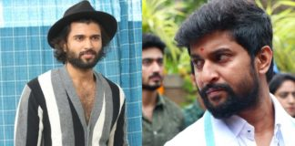 Vijay Deverakonda following Nani