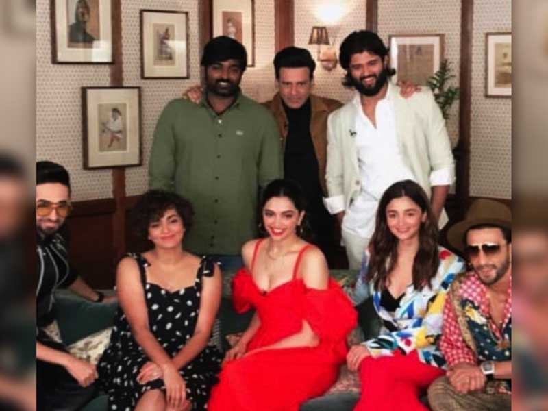 Vijay Deverakonda spotted with Alia Bhatt