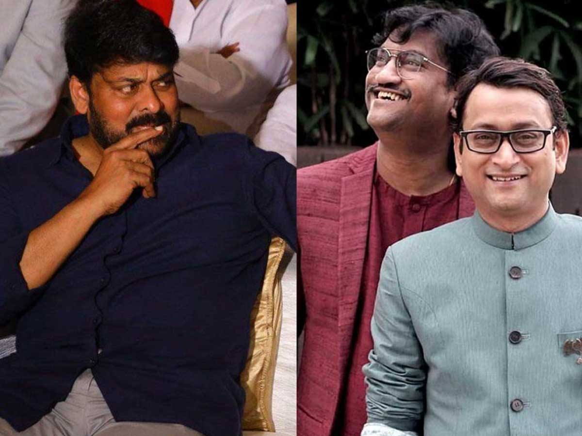 What is the reason behind Chiranjeevi's sudden interest in Bollywood music directors!