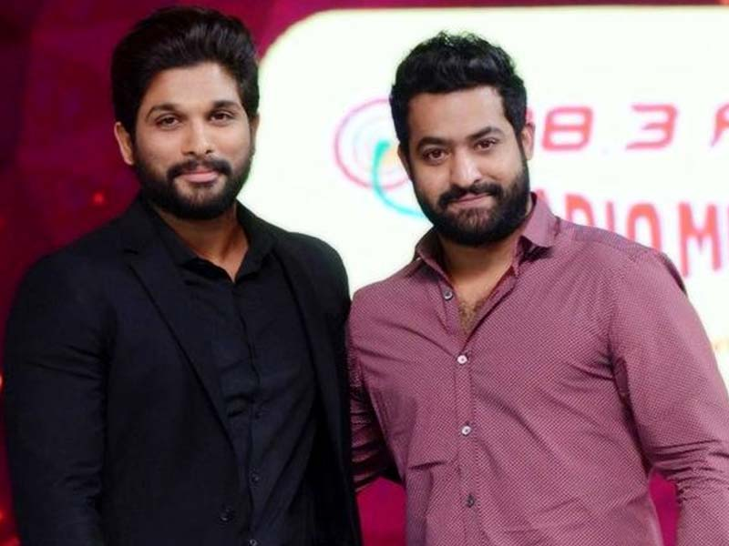 Allu Arjun invitation says to bring Jr NTR