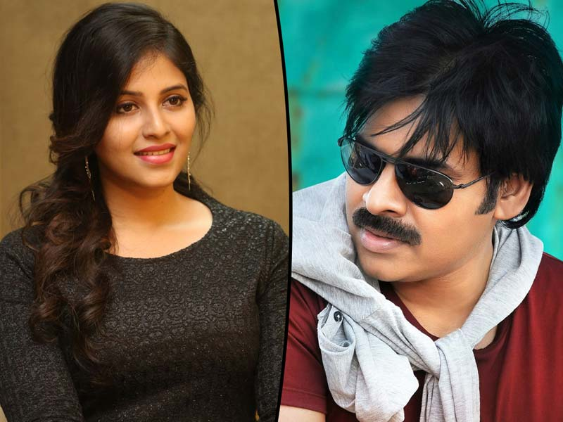 Anjali the absolute performer for Pawan Kalyan