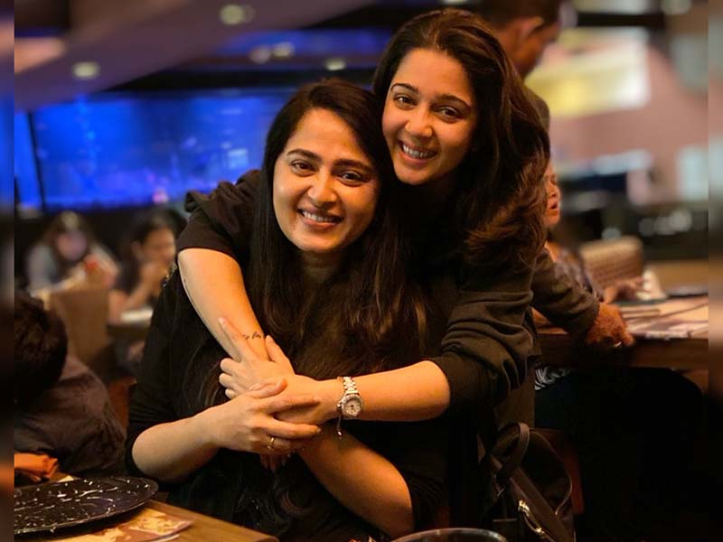 Anushka Shetty with Naughty Charmee