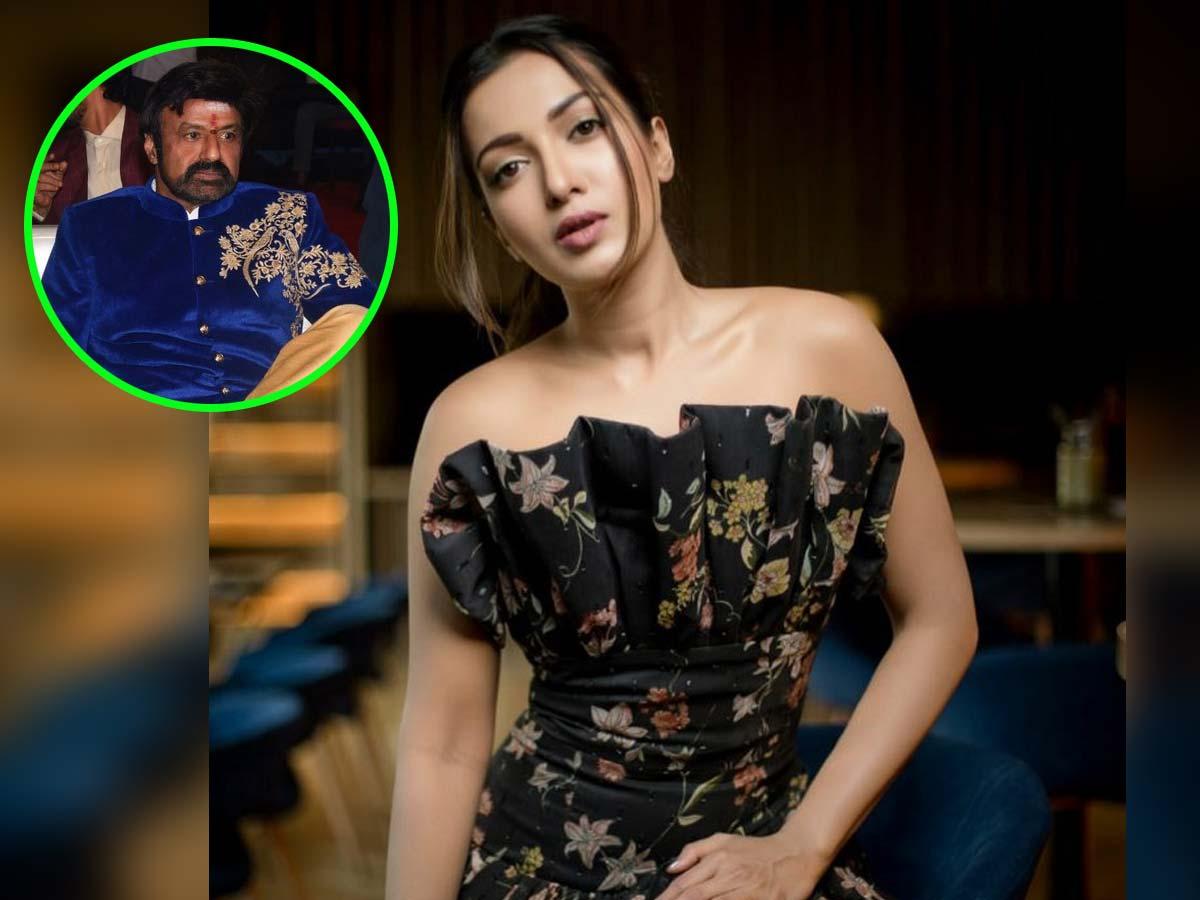 Catherine Tresa Pay Cheque for Balakrishna Film
