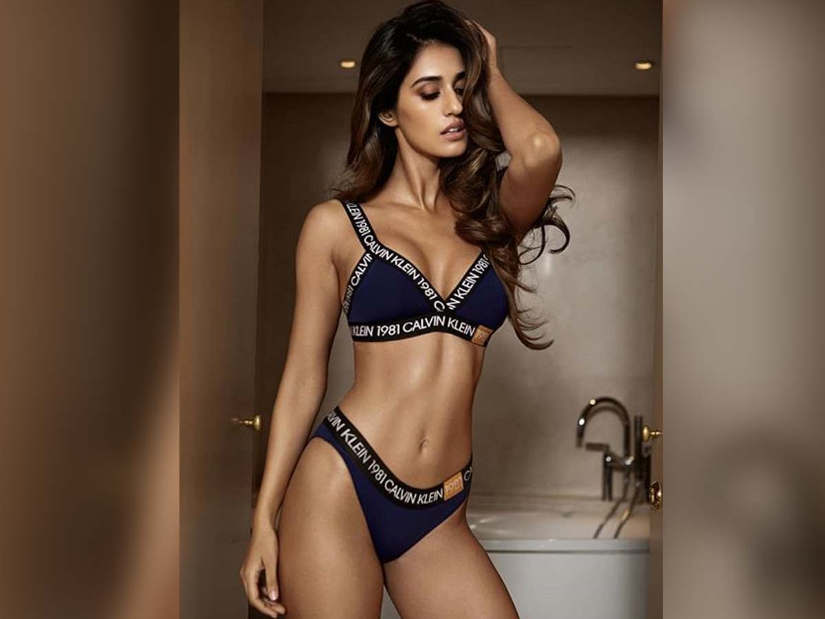 Disha Patani Tempting Brown skin