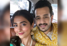 Fun number for Akhil & Pooja Hegde