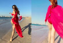 KGF girl flaunts her hot side in bikini