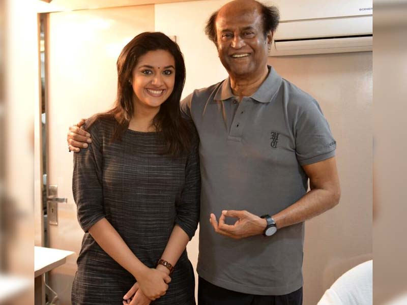 Keerthy Suresh joins the cast of Rajinikanth film