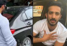 Mini Truck hits TV Anchor Ravi Car Escaped unharmed