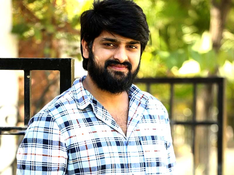 Naga Shaurya taking on baddies in a protest