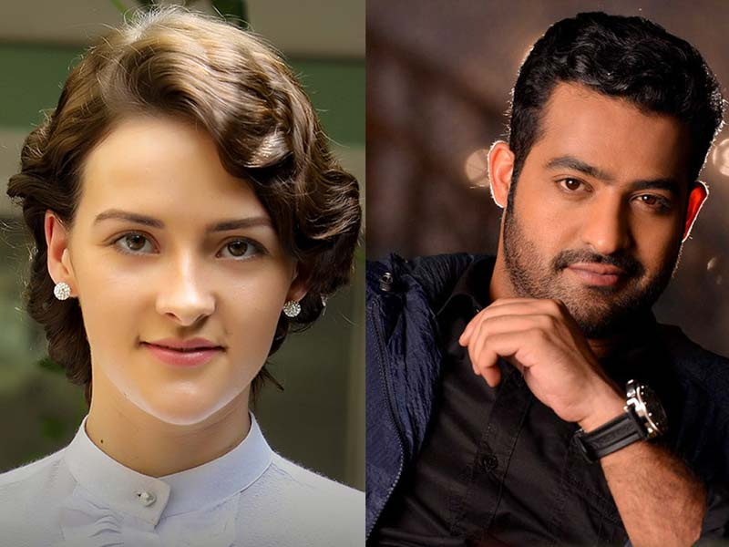 Olivia Morris concentrating on her romance with Jr NTR
