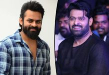 Prabhas Chief Guest for Sai Dharam Tej