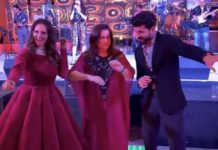 Ram Charan rocking the dance floor with Farah Khan, Sania Mirza
