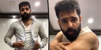 Ram bruised; posts a video on social media