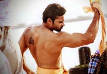 Sai Dharam Tej unshockable six pack abs