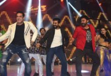Venkatesh, Ram Charan tap their feet with Salman Khan