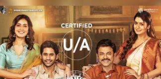 Venky Mama Censor Inside report info gets UA Certificate