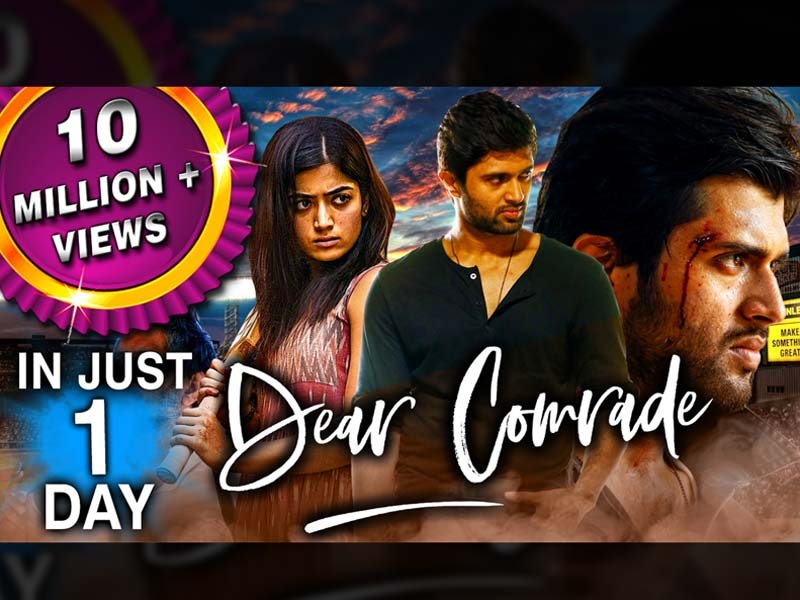 10 Million in 24 hours for Hindi Dear Comrade