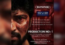 Allari Naresh bloodied avatar, tears rolling down from his eye