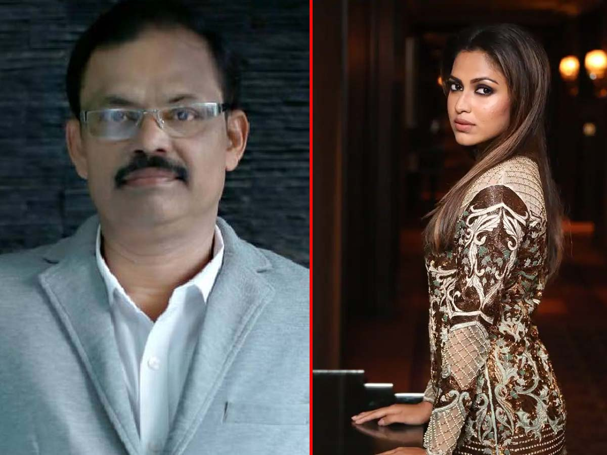 Amala Paul Father no more